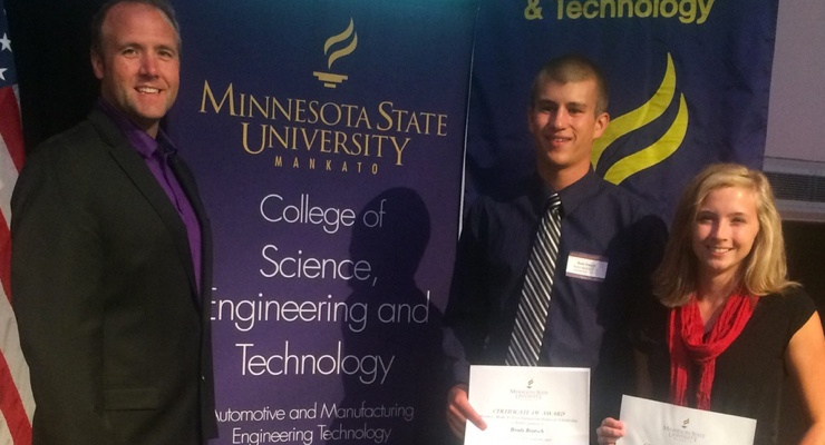 Two students awarded scholarships
