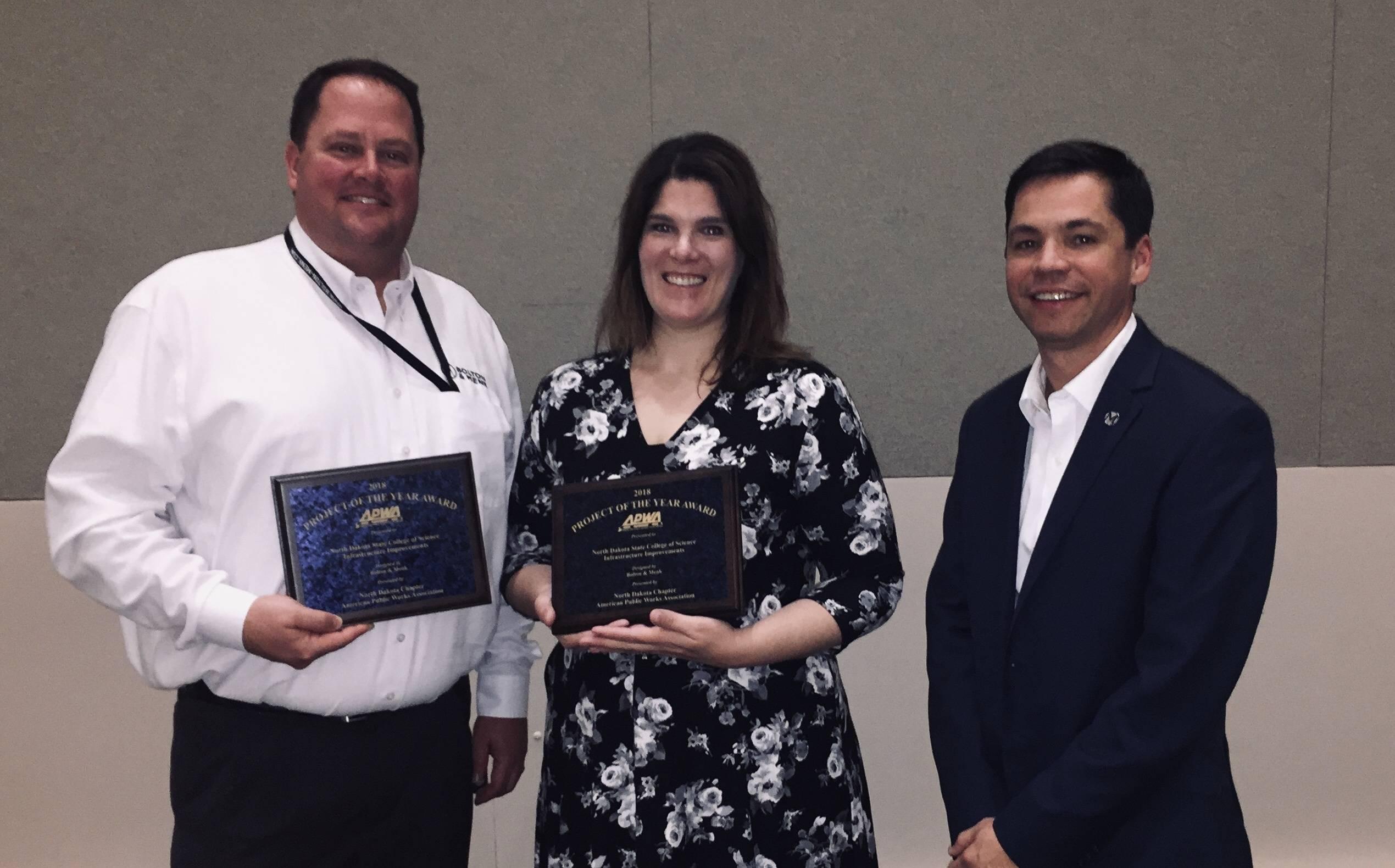 NDSCS APWA-ND Award