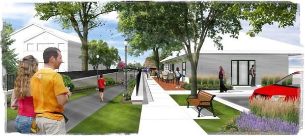 Chaska downtown rendering