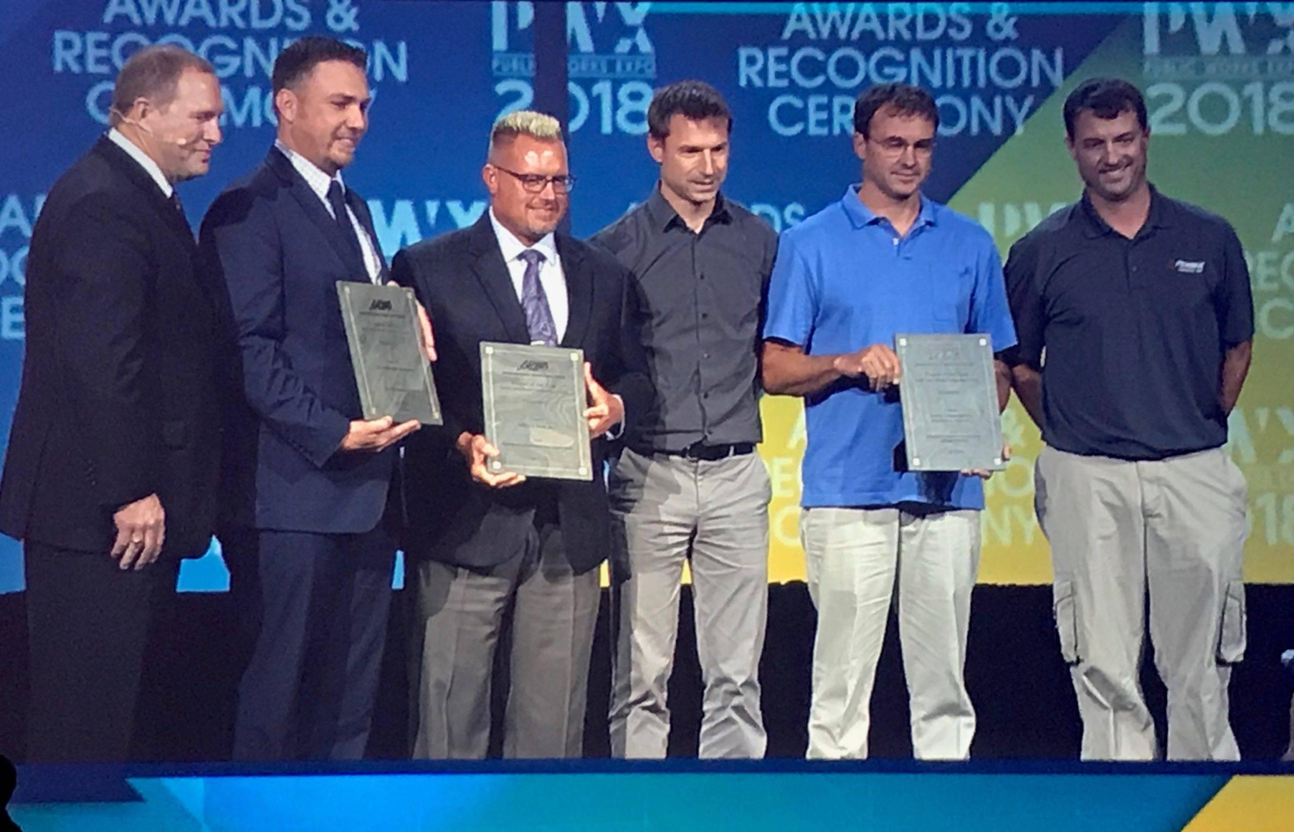 APWA Award Received at PWX