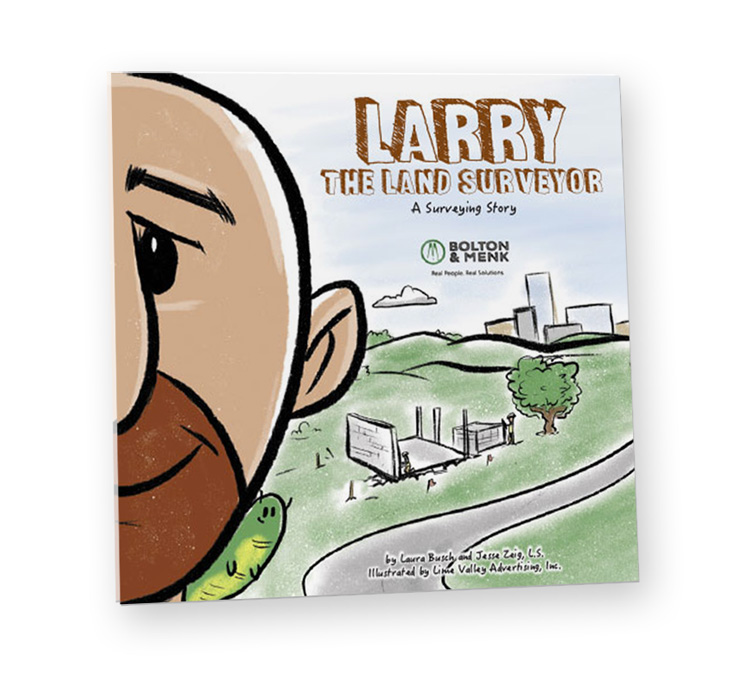 Larry the Land Surveyor Cover