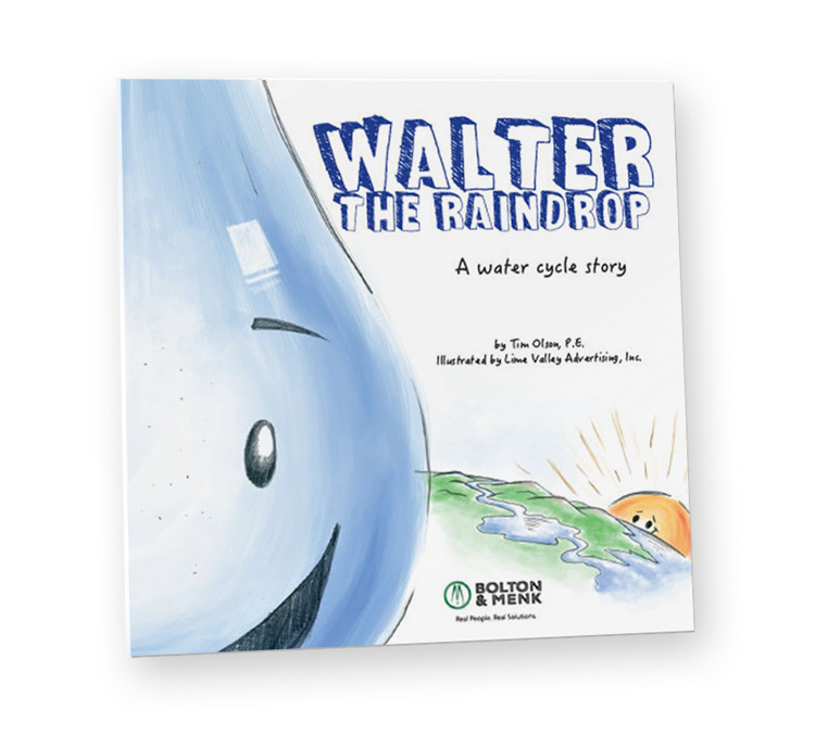 Walter the Raindrop Cover