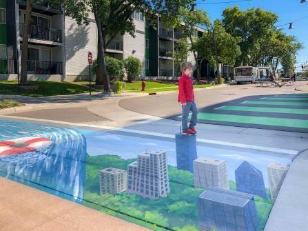 Hopkins Artery Sidewalk Design