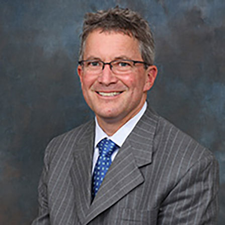 Professional headshot of  Peter W. Blethen