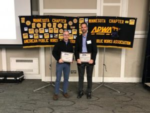 SMSC and Bolton & Menk staff receive award