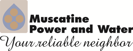 Muscatine power and water logo