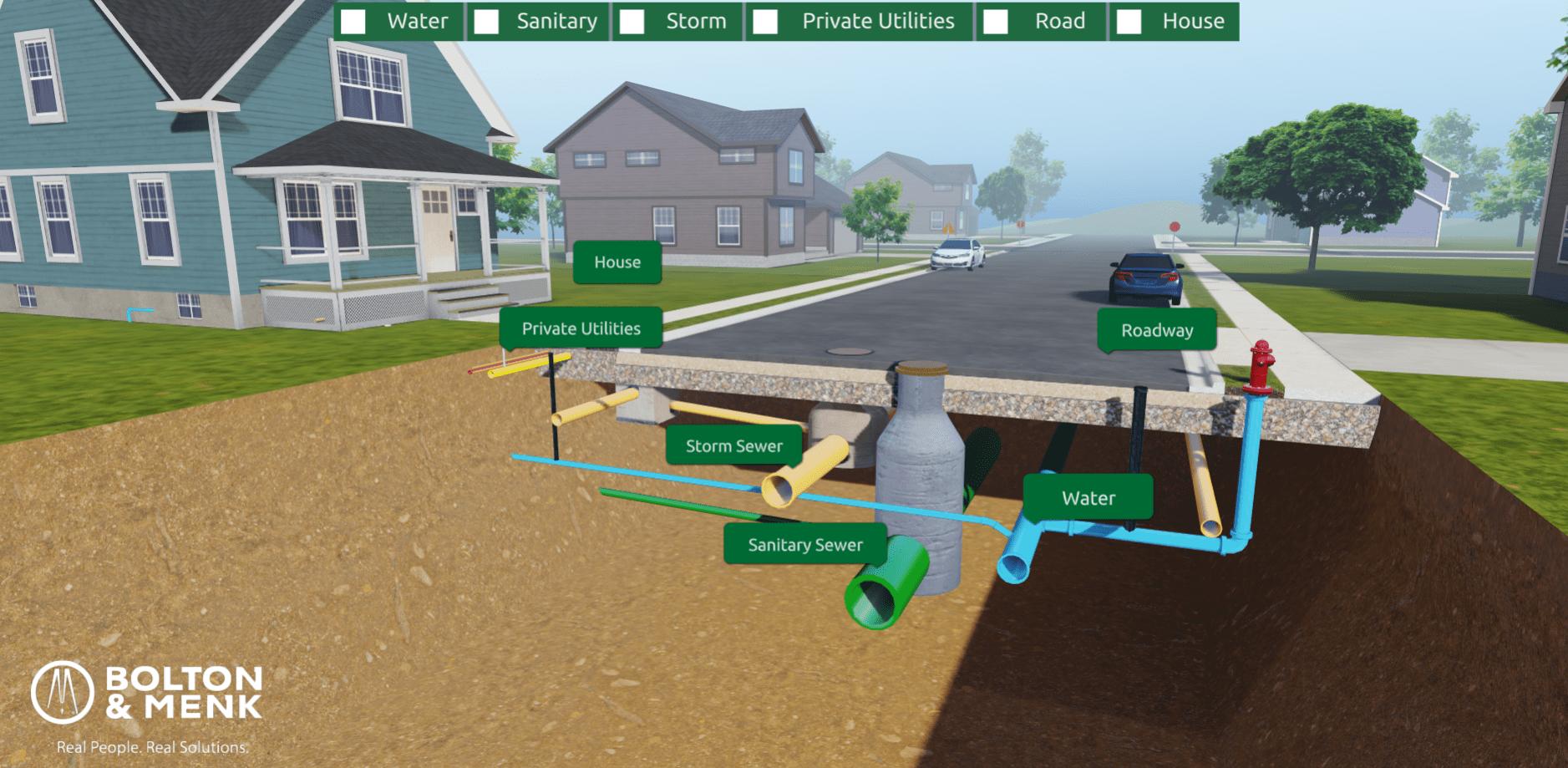 whats under my street interactive app
