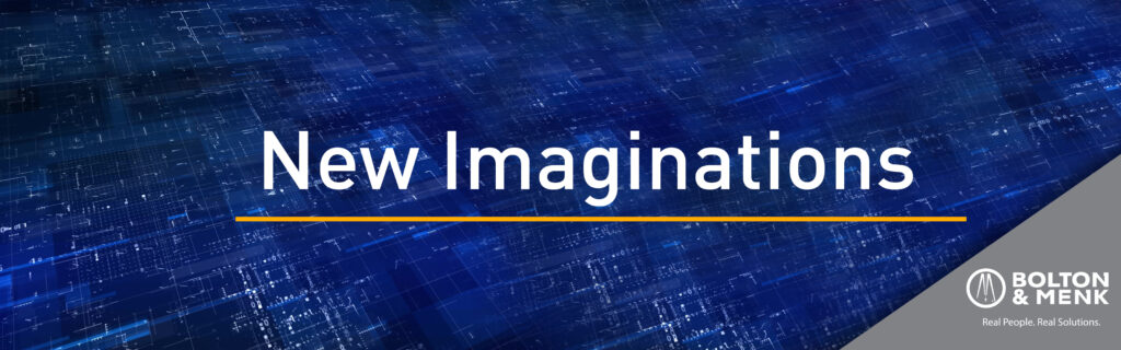 New Imaginations branded banner