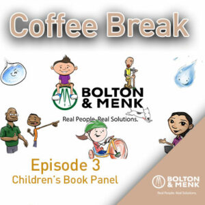 coffee break episode three children's book panel with children's books characters