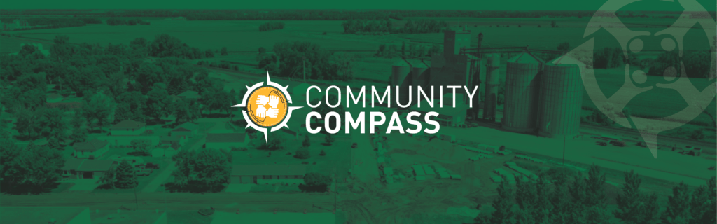 Community compass branded banner