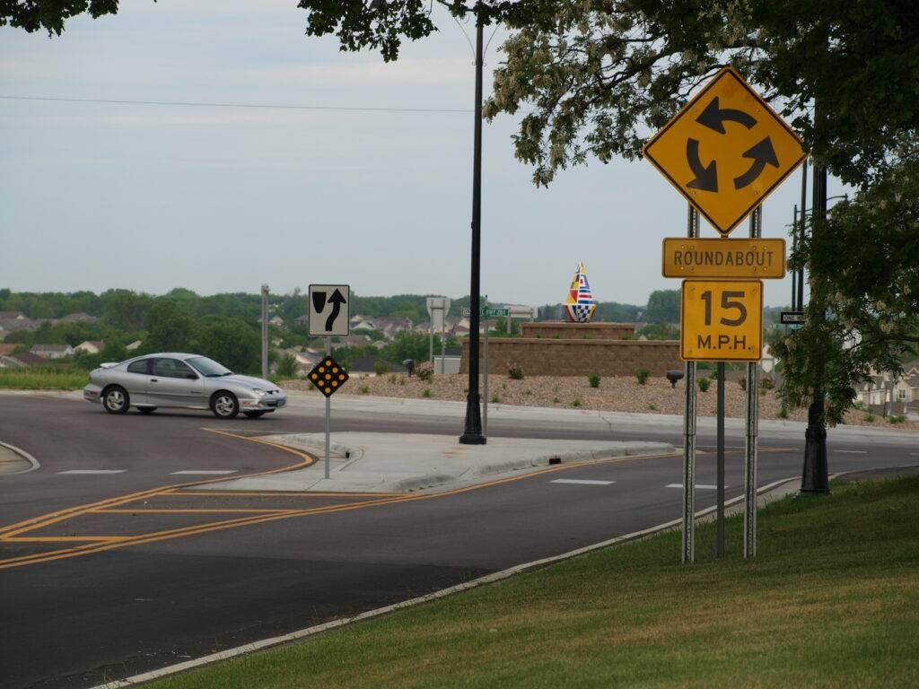 minnesota speed limit sign