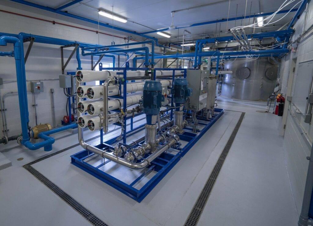 Sherburn water treatment facility