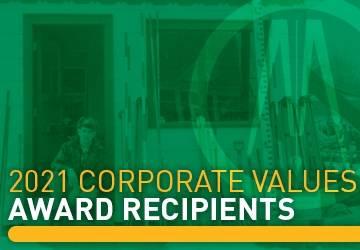 corporate values awards