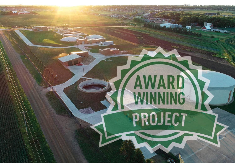 Sioux CenterWastewater TreatmentReceivesACEC-IA Honor Award