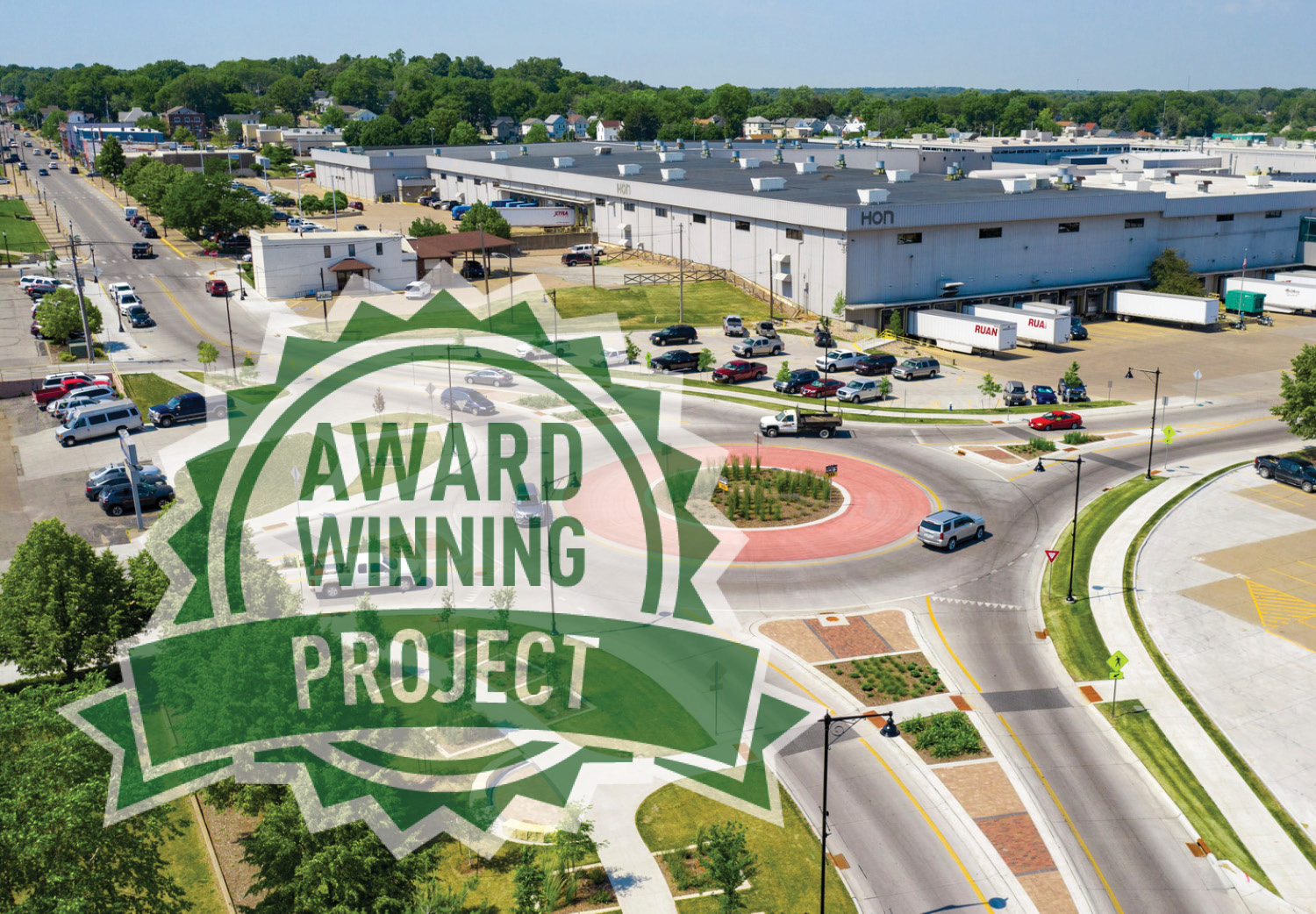 ACEC-IA Awards Mulberry Avenue Roundabout for Engineering Excellence