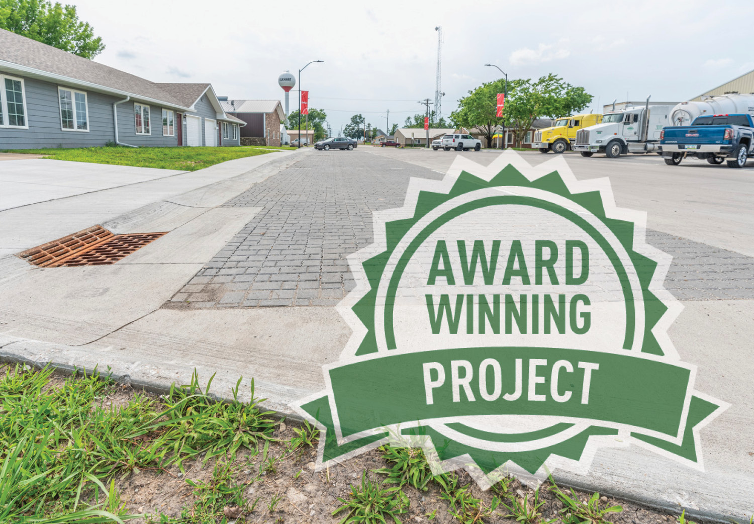 Elkhart Awarded APWA-IA Project of the Year