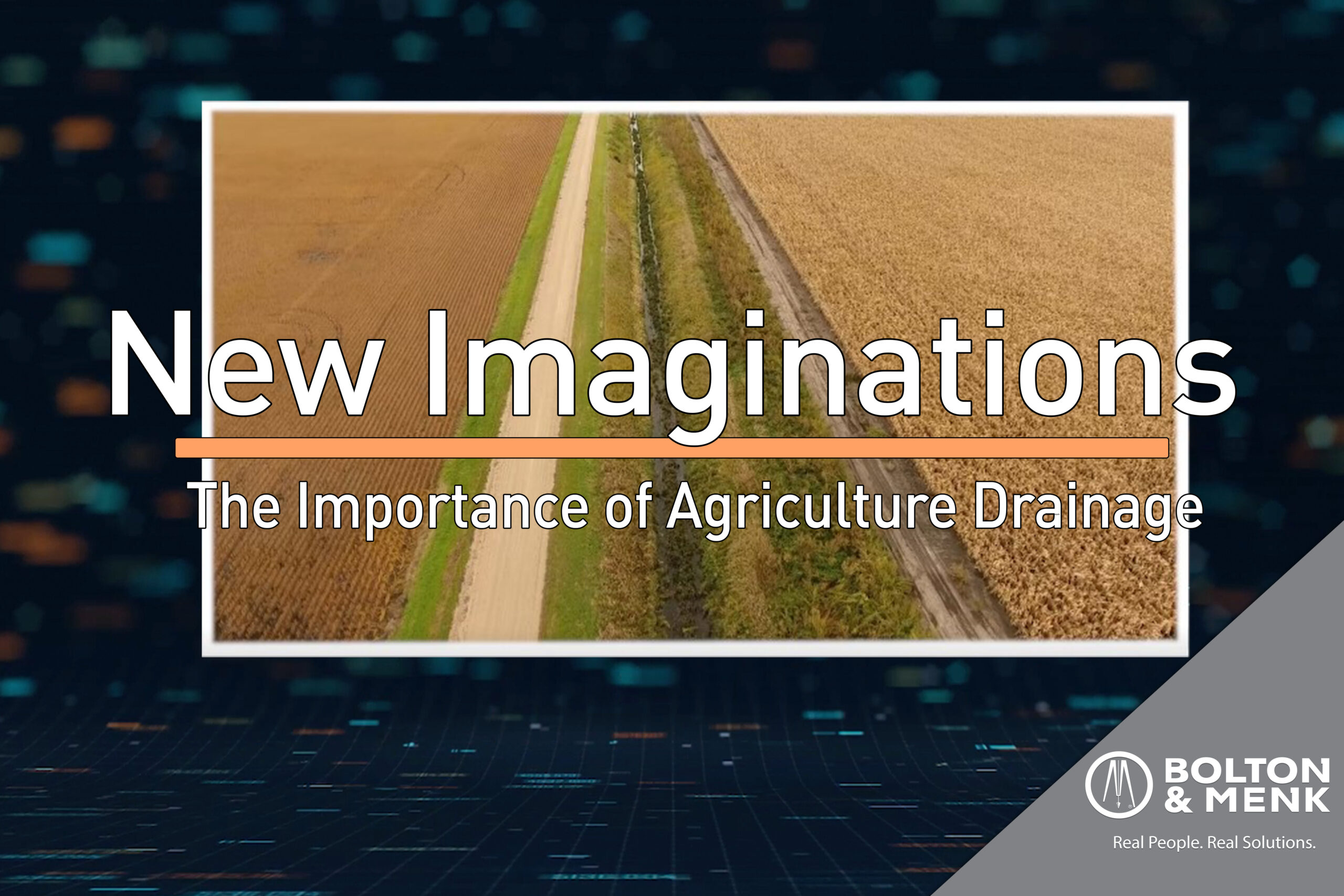 The Importance of Agricultural Drainage